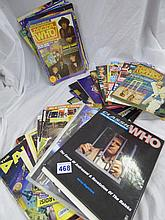 TWO LARGE BOXES OF DOCTOR WHO RELATED EPHEMERA