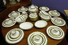EXTENSIVE SPODE BONE CHINA 'TAMARIND' PATTERN