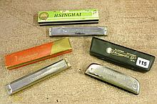 M. HONER CHROMETTA 12 HARMONICA, THE BANDMASTER &