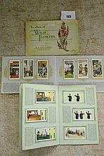 TWO COMPLETE WD AND HO WILLS CIGARETTE CARD ALBUMS