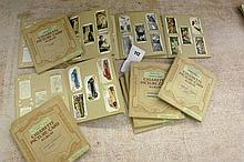 ELEVEN CIGARETTE PICTURE CARD ALBUMS OF WILLS