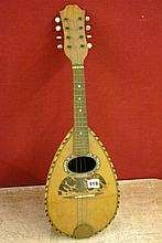 ITALIAN MANDOLIN SYCAMORE AND ROSEWOOD WITH