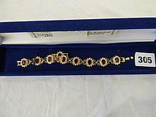 CAMROSE AND KROSS PASTE RUBY AND SWAROVSKI