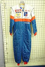NATIONAL RALLY DRIVERS SUIT WORN BY JOFF HAIGH FOR