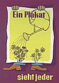 Original 1950s German Advertising Poster Plakat