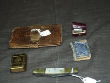 Lot of Assorted Civil War Soldier Items
