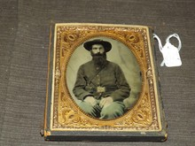 Civil War Era Tintype, Union Solder