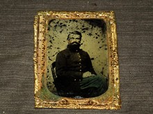 Civil War Era Tintype, Union Soldier