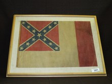 US Confederate Flag in the 3rd National Format