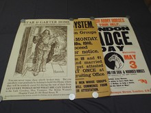 (3) British World War One Posters/Broadsides