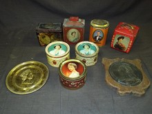 Lot of Assorted British Royaty Tins