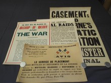 (4) British World War One Broadside Posters