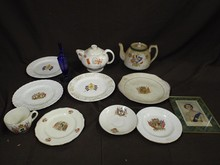 Porcelain Coronation Lot