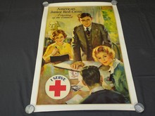 American Junior Red Cross Poster, Lawrence Wilbur
