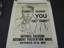 US Railroad Administration Poster 1919