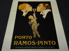 Porto Ramos-Pinto French Advertising Poster