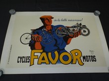 1930's French Cycle Advertising Poster