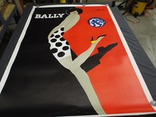 1960's Bally Advertising Poster, Villemot