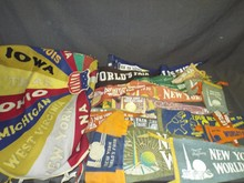 Lot of 1939-40 New York World's Fair Pennants