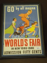 1940 New York World's Fair Poster, S. Ekmar