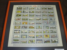 1939 New York World's Fair Sheet of Poster Stamps