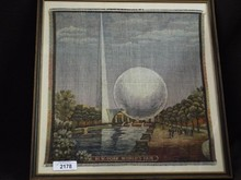 New York World's Fair Trylon & Perisphere Tapestry