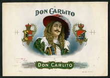 Don Carlito Cigar Label Inner Proof