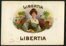 Libertia Cigar Label Inner Proof