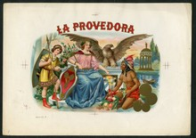 La Provedora Cigar Label Inner Proof