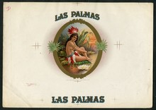 Las Palmas Cigar Label Inner Proof