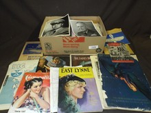 Large Box Lot of Assorted Paper Ephemera