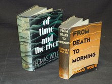 Thomas Wolfe. Lot of Two First Editions.