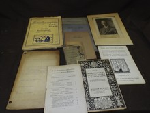 Book and Ephemera Lot.