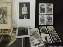 Large Lot of Vintage Photos, Tintypes, and More
