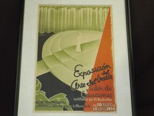 1935 Exposition Poster, Clothing Art