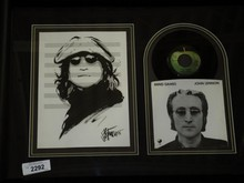 John Lennon Pen & Ink Drawing by Joe Petruccio