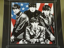 Beatles Giclee on Paper by Allison Lefcort
