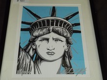 Statue of Liberty Portrait by Allison Lefcort
