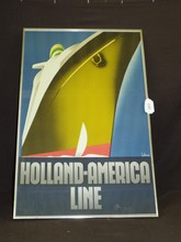 Holland America Line Poster, Ten Broek
