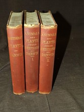 Charles Darwin. Three Volumes.