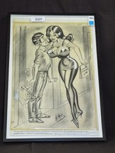 Bill Ward Original Pin Up Art.