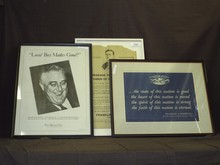 Franklin Delano Roosevelt Lot of Posters.