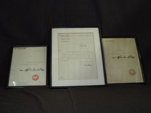 Lot of 3 Zeppelin Related Documents