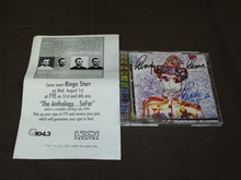 Ringo Starr Signed CD,