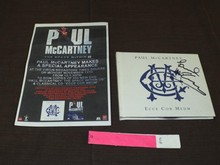 Paul McCartney Signed Book,