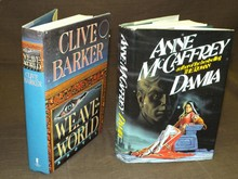 (2) Signed Science Fiction Books