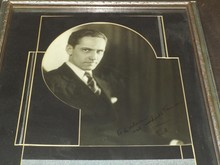 Vintage Frederic March Signed & Inscribed Photo