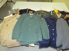 Lot of Assorted Military Uniform Jackets