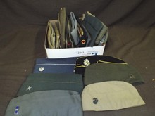 Lot of Assorted Military Related Uniform Hats