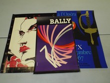 (3) Assorted Posters, Bally, Opera, ++